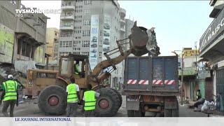 Sénégal : destruction du marché Sandaga de Dakar