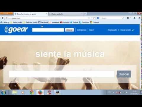Descargar música de Goear sin descargar ningún programa