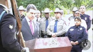Gov. Perry: Images of September 11th are Forever in Our Minds