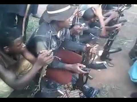 Fulani Militia Gathering in North Central Nigeria