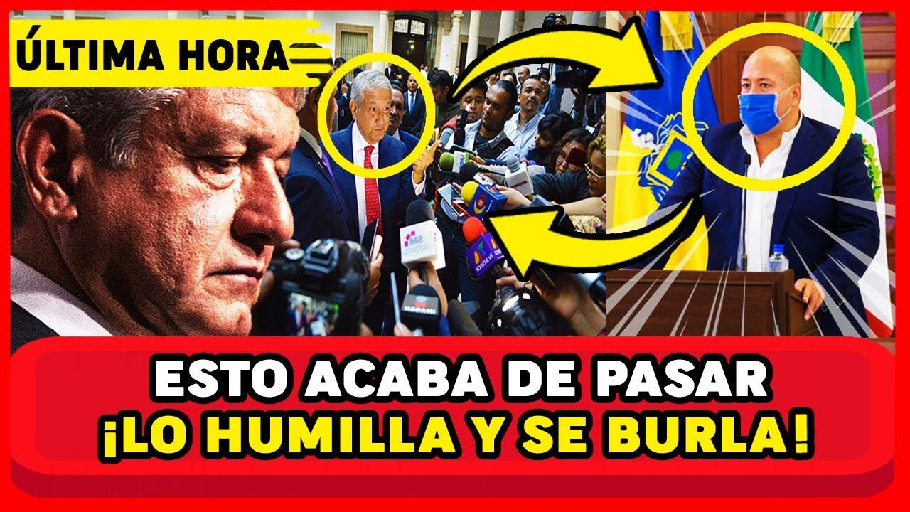 ¡SE ACABÓ! AMLO YA SE HARTÓ DE ENRIQUE ALFARO LO HUMILL4 EN ENTREVISTA MEXICO Y JALISCO EN SHOCK