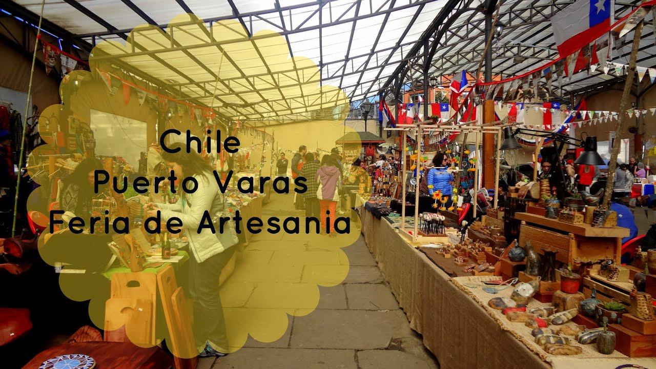 Chile puerto varas feria de artesania youtube for Feria de artesanias 2016