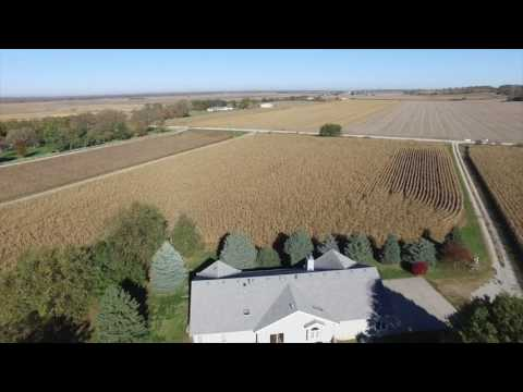 Gretna NE 24.3 Acreage, 2 buildings, 1995 Ranch House For Sale