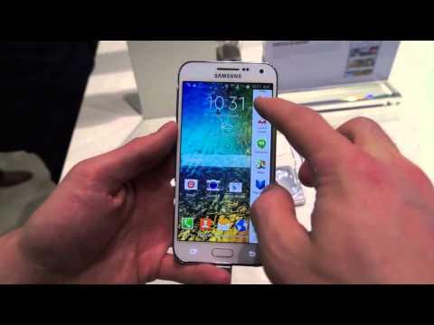 Samsung Galaxy E5, prise en main - par Test-Mobile.fr