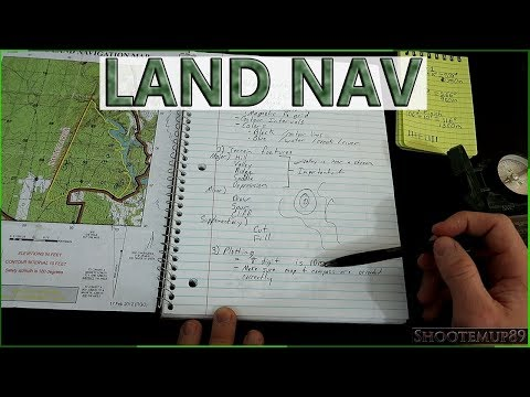 How To Do Land Navigation At Basic Training  Everything You NEED To Know To Pass