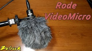 Rode VideoMicro Quick Review and Comparison