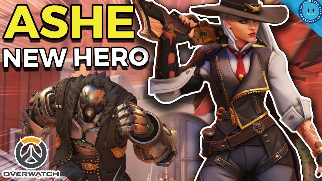 Overwatch New Hero Ashe