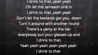 Cheers I Drink To That Smash Lyrics