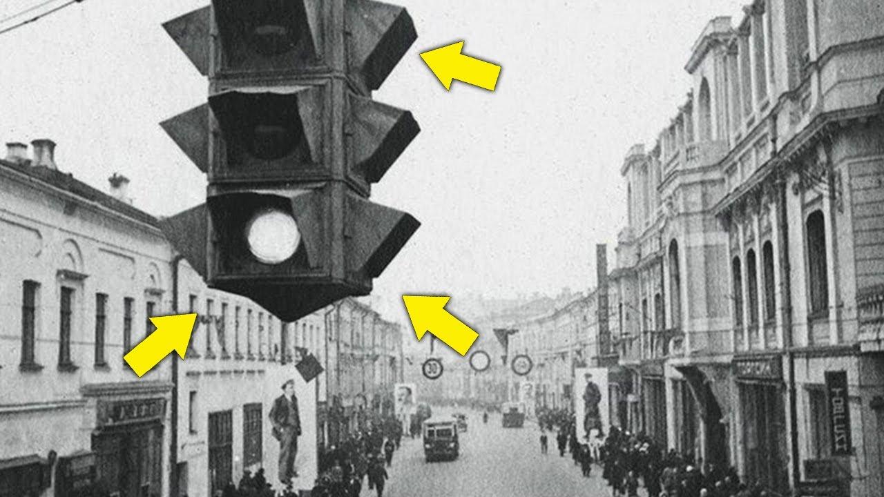 Каким был первый светофор и где он впервые использовался?