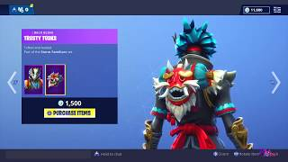 Fortnite Item Shop: NEW TARO/NARA SKIN! (November 24th 2018) Fortnite Battle Royale