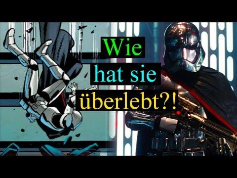 Wie hat Captain Phasma die MÜLLPRESSE überlebt?! - Star Wars (Deutsch)