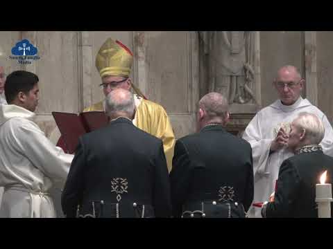 The Investiture of Charles McCluskey as a Papal Knight of the Order of St Gregory.