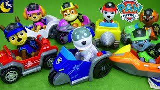 Funny Toy Stories for Kids Paw Patrol Toys Mission Paw Cruiser Pups Race