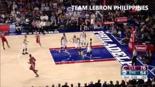 Cleveland cavaliers vs philadelphia 76ers full highlights [11/2/2015]