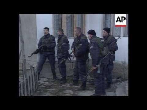 KOSOVO: YUGOSLAV POLICE LAUNCH NEW OPERATION AGAINST REBELS