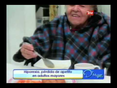 Hiporexia, Pérdida De Apetito En Adultos Mayores