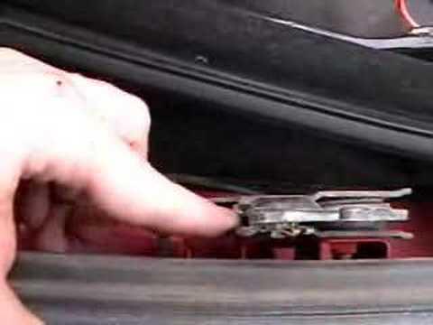 BMW Top Repair (E36) MillerTimeBMW - DIY 3 - YouTube