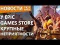 У Epic Games Store крупные неприятности. Новости