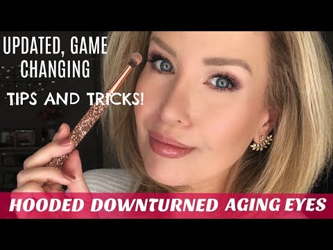 HOODED, DOWNTURNED OR AGING EYES? NEW TECHNIQUE MOST YOUTUBERS DON'T SHOW!