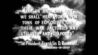 WWII Military Pilot Recruiting Film Air Corps, Air Force, Navy Fighter