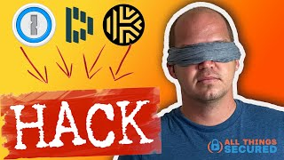 Password Manager HACK that eliminates the risk of a master password!