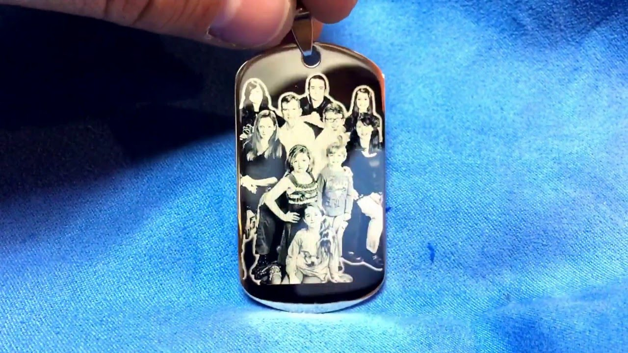da lin april 2016 order custom photo engraving dogtags pendant