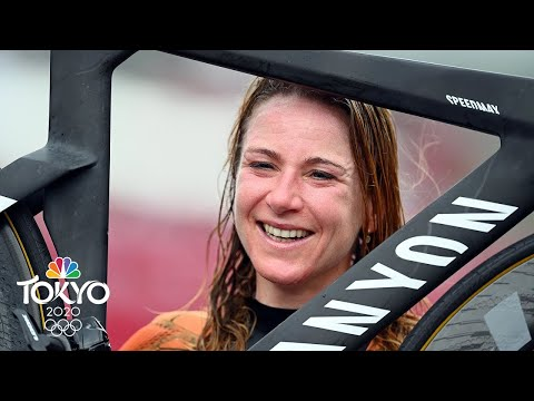 Netherlands' Annemiek Van Vleuten captures cycling time trial gold  Tokyo Olympics  NBC Sports