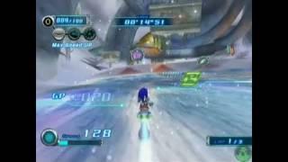 Sonic Riders: Zero Gravity Wii Gameplay - Gameplay 1