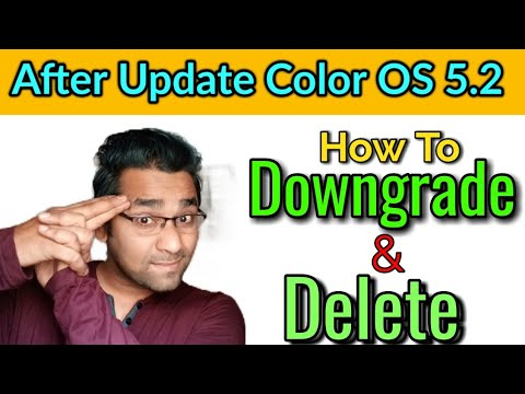 Realme 1 Color OS 5 2 Update | How to Downgrade | How to Delete Color OS  5 2 in Realme 1 | Atul Tech