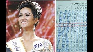 Lộ bảng điểm thời đi học Hoa hậu HHen Niê Choáng với điểm Toán, sốc toàn tập khi thấy điểm Tiếng Anh