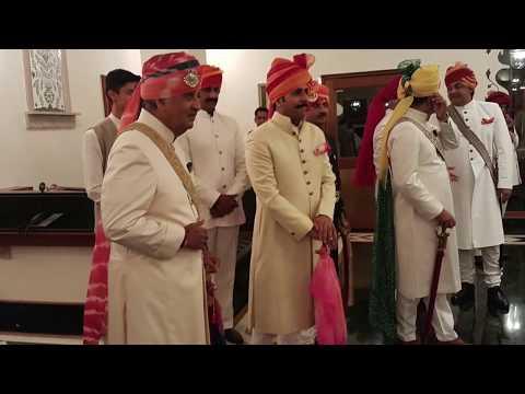 Royal Rajputana Wedding Gaj singh ji MAHARAJA of JODHPUR-Shahitaj