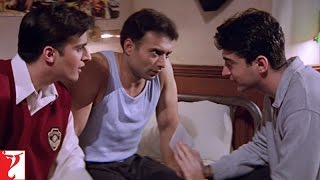 Video Scene - Mohabbatein | Kismat Mein Milna Likha Hai | Uday Chopra | Jugal Hansraj | Jimmy Shergill download MP3, 3GP, MP4, WEBM, AVI, FLV Juni 2018