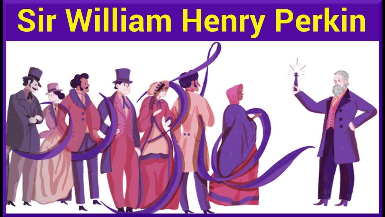 Sir William Henry Perkin Google Doodle #1
