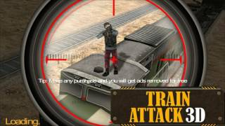 Train Attack 3D - Game play Android