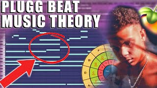HOW TO MAKE DRËAMY MELODIC PLUGG BEATS   FL STUDIO MUSIC THEORY TUTORIAL 2021