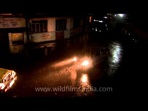 Day or night, It rains cats and dogs in Cherrapunji!