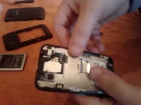 Samsung star 3 reparieren/zerlegen und wieder zusammenbauen