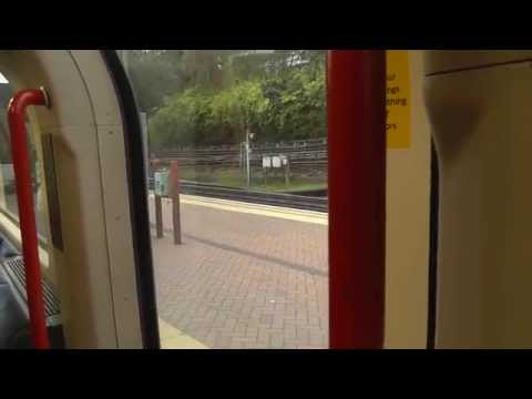 Full Journey On The Central Line From West Ruislip to Epping