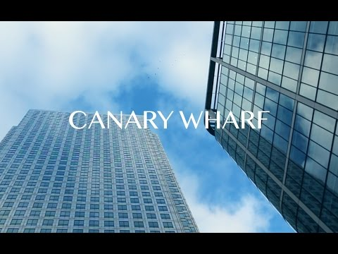 Canary Wharf Cinematic Slow Motion