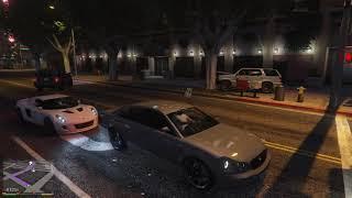Grand Theft Auto V - Car Likes Ramming Trees