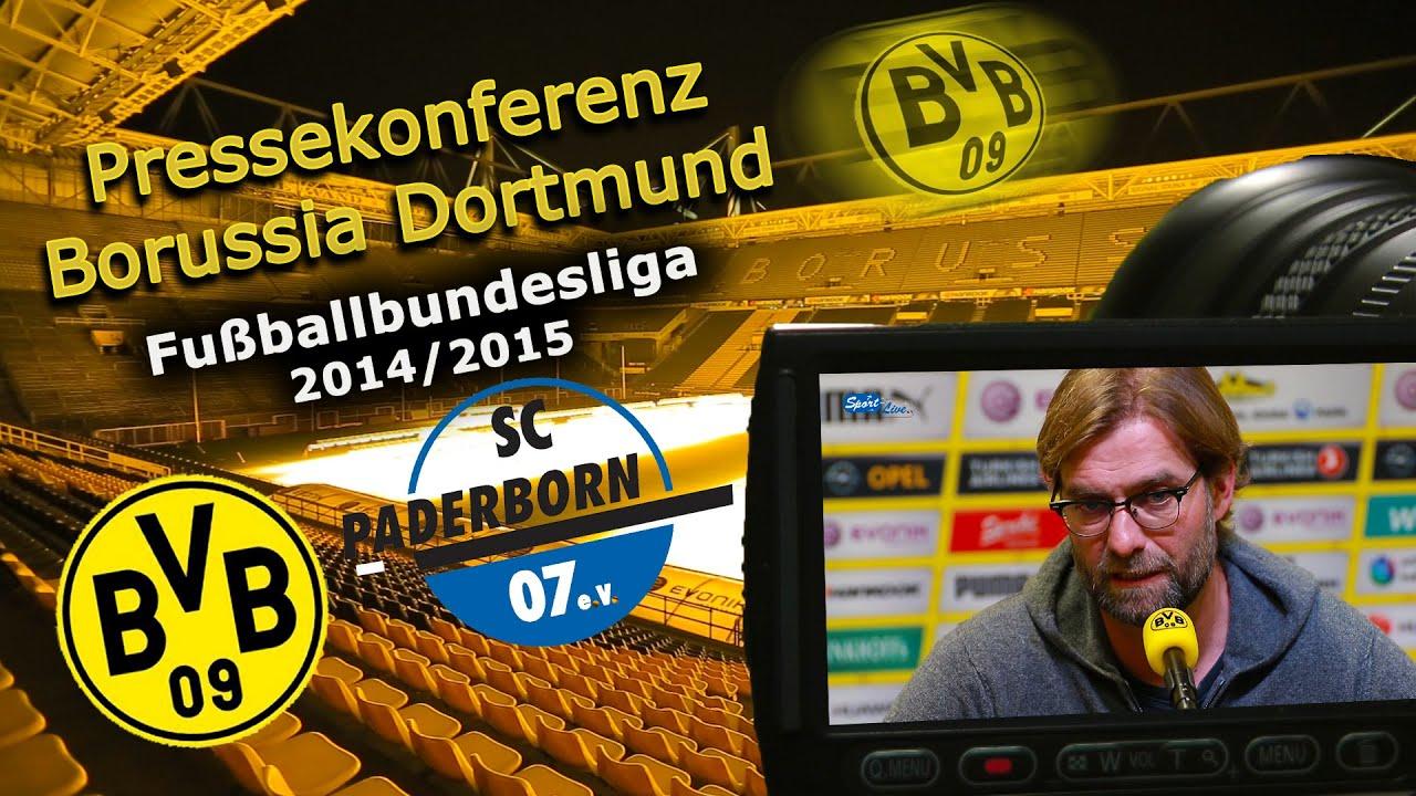Borussia Dortmund - SC Paderborn 07 : Bundesliga-Pk mit Jürgen Klopp