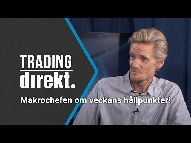 Trading Direkt 2020-09-15: Teknisk analys på 15 tittarönskemål & Makrochefen om veckans hållpunkter!