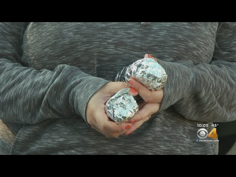 BEARDO - Outside St. Francis Center, Group Hands Out Burritos To Denver Homeless