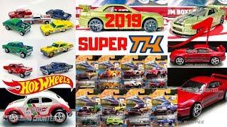 Hot Wheels 2018 Series, M Case Lineup, 2019 Super Treasure Hunts,... HOT WHEELS NEWS!!!
