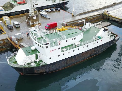 Ro-Ro 200 pax Passenger Car ferry for sale - USD 480,000