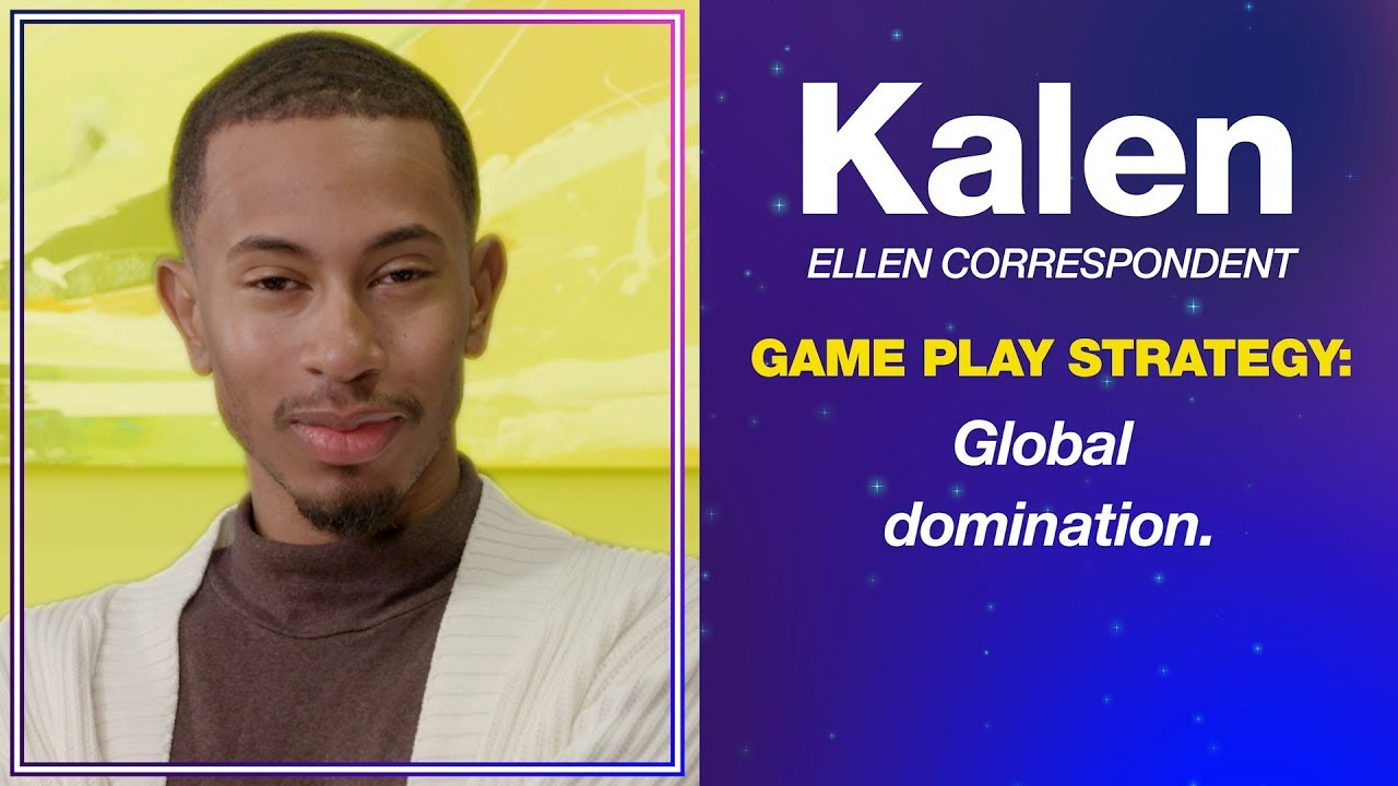 Kalen Hosts Game Night and Plays Ellen's New Game, 'The Truth Comes Out'