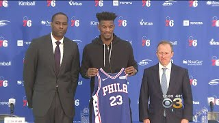 Sixers Introduce Jimmy Butler, Justin Patton