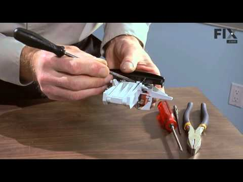Maytag Dishwasher Repair – How to replace the Door Handle and Latch Assembly with Switches