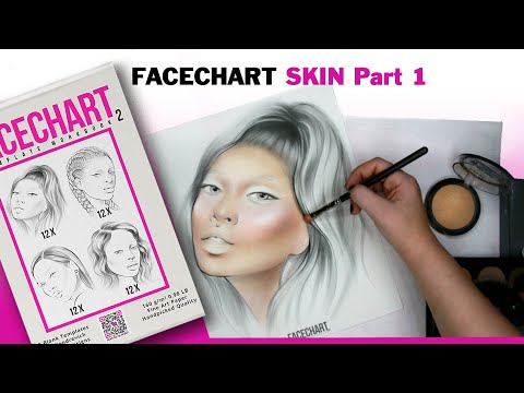 How to: Angled Facechart skin Part1 | by Liza Kondrevich