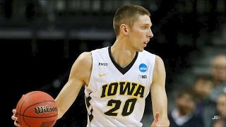 Iowa Forward Jarrod Uthoff 2015-16 Highlights ᴴᴰ